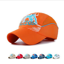 Fashion Kids Embroidery Spiderman Hiphop Outdoor Sun Shading Baseball Cap Hat