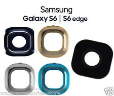 Samsung Galaxy S6 / S6 Edge Camera Lens Cover Replacement Frame OEM