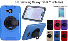 "For Samsung Galaxy Tab 3(ilte) 7"" Screen Protector/ Heavy Duty Shock Proof Case"