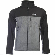 The North Face Men's Jacket Relaxed Fit TNF Apex Climaproof Coat Grey & Black