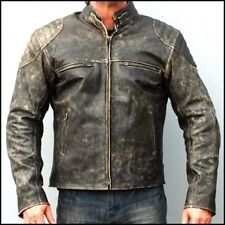 Vintage Leather Jacket Mens - Jacket