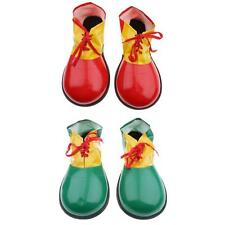 Clown Men Child Shoes Covers Party Fancy Dress Fun Circus Costume Accessory