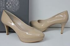Vince Camuto Kataa Petal Patent nude platform pump shoes New In Box