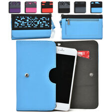 Women's Protective Wallet Case Cover for Smart Cell Phones by KroO ESDC-9 LG
