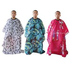 Kid Adult Salon Barber Gown Cape Hairdressing Hair Styling Cutting Cloth Apron