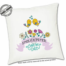 Personalised Wedding day cushion Cover.Add your own text -ILVC-1200  D4