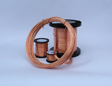 Bare unplated uncoated SOFT COPPER WIRE 1.25mm  16 GAUGE 500grams 99.96% PURITY