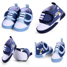 Toddler Baby Velcro First shoes soft cloth soles crib shoes Age 0 to 18 months