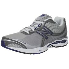 New Balance Men Athletic Walking Marche Shoes Grey Silver Navy Blue
