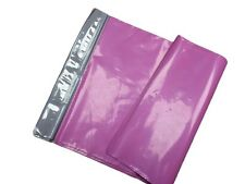 MIXED PINK MAILING-POSTAL BAGS PEEL AND SEAL LARGE TO SMALL (10X14)(12X16)
