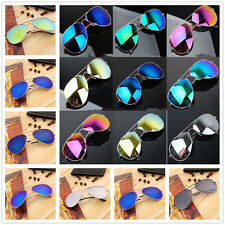 Fashion Women Men Glasses Mirror Lens Sunglasses Unisex Vintage Retro SG
