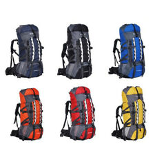 80L Internal Frame Backpack Hiking Bag Camping Travel Rucksack Mountaineering