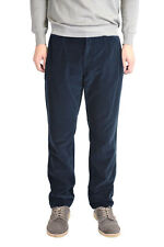 "Dolce & Gabbana ""Style 18"" Dark Blue Velour Casual Pants Size 30 32 36 38"