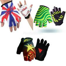 Motorcycle Motorcross Bicycle Road Bike Cycling Riding Racing Half Finger Gloves