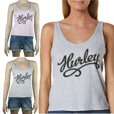 HURLEY New Ladies RAIDER TAIL Singlet T Shirt Top (10 12 14)