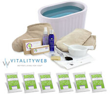 Therabath Professional Paraffin ThermoTherapy Heat Wax Bath TB6 +Super Combo Kit