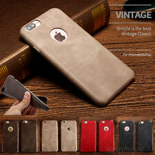 Luxury Thin PU Leather Back Skin Case Cover For Apple iPhone 7 7 Plus 6 6s Plus