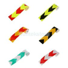 High Visibility Reflective Night Warning Conspicuity Arrow Tape Sticker Decal 3M