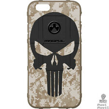 Magpul Field Case for iPhone 6,6s,or 6 PLUS. FDE Desert DigiCamo w/Punisher