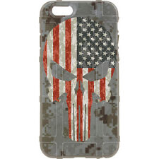 Magpul Field Case for iPhone SE,4,5,5s. Custom DDC USA Punisher (FDE)