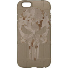 Magpul Field Case for iPhone SE,4,5,5s. Custom DDC Punisher by Ego Tactical FDE