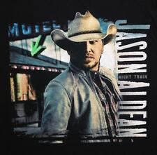 Jason Aldean Night Train Classic Country Band Concert Licensed Adult T-Shirt