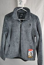 THE NORTH FACE OSITO 2 JACKET BLACK MID GREY STRIPE NEW COZY SILKEN FLEECE
