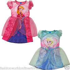 NEW WK KIDS GIRLS FROZEN ANNA DRESS UP COSTUME COMPLETE OUTFIT 3-4 5-6 YEARS
