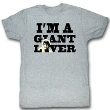 Andre The Giant T-Shirt – Giant Lover Wrestling Athletic Gray Adult Tee Shirt