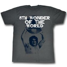 Andre The Giant T-Shirt – World Cup Wrestling Charcoal Adult Tee Shirt