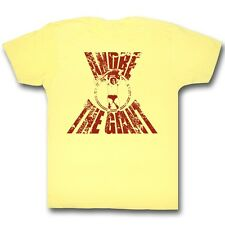 Andre The Giant T-Shirt – Real G Wrestling Bright Yellow Heather Adult Tee
