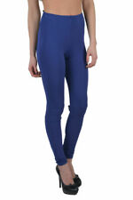 Maison Martin Margiela Women's Blue Stretch Leggings US 2 4 6 8
