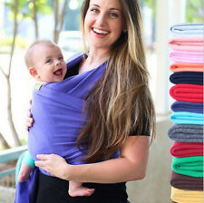 Wrap Stretchy Baby Infant Carrier Breastfeed Birth Sling Cotton Backpack