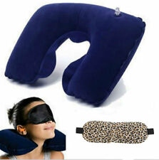 Car Flight Travel Soft Portable Inflatable Neck Rest Cushion U Pillow Support