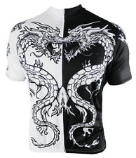 Dragon Tattoo Cycling Jersey Men's Short Sleeve 83 Sportswear with DeFeet Socks