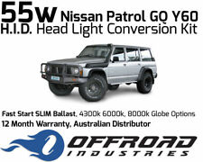 55w Nissan Patrol GQ Headlight Fast Start HID Conversion Kit