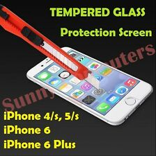New Scratch Resist Tempered Glass Screen Protector Film Guard for iPhone 6 Plus