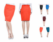 MARYCRAFTS WOMENS OFFICE WORK PROFESSIONAL PENCIL STRAIGHT KNEE LENGTH SKIRTS