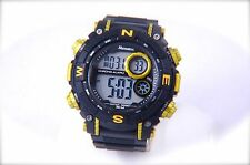 DIVER CHRONO-ALARM DIGITAL TIME WATCH 30M WATER RESIST RAYNELL®