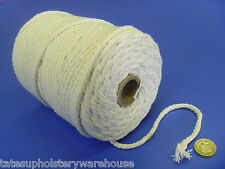 1 Kilo Cotton Piping Cord 6mm Upholstery Approx 130mts