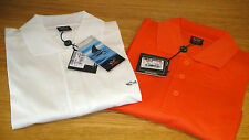 New Paul & Shark Pique Polo shirt Size 3XL in White & Orange Superb quality WOW!
