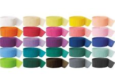 81 FT CREPE PAPER STREAMER CATERING PARTY BAGS WEDDING BIRTHDAY DECORATION