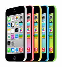Apple iPhone 5c Unlocked AT&T 16GB 32GB Green Pink White Yellow Blue Cell Phone