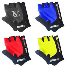 VeloChampion Summer Cycling Race Gloves - Fingerless Mitts with Pro Gel Palm