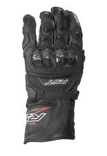 RST Delta 3 Black Motorbike Leather/Carbon 2128 Sports Gloves XS-2XL