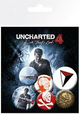 Uncharted 4 Mix Badge Pack