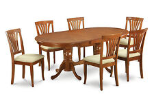 7 PC Dining Room Table Set-dining room table and 6 dining chairs