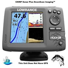 Lowrance HOOK-5x High-Resolution Fishfinder With 83/200/455/800 HDI Transducer