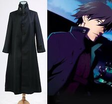 Darker Than Black Hei Cosplay Costume Outfit Jacket Coat Halloween Party