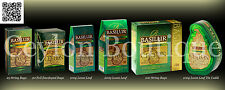 Basilur Green Pure Ceylon Loose Leaf Tea and Tea Bags Exp: Date 2018